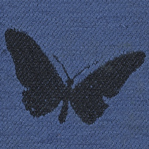 Butterflies - Blue Finish