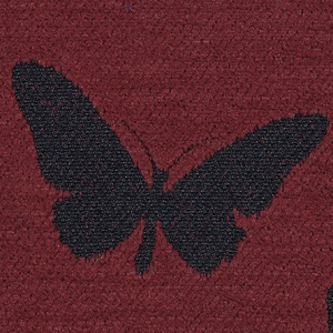 Butterflies - Red Finish